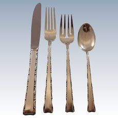 Madrigal by Lunt Sterling Silver Flatware Set For 12 Service 48 Pieces