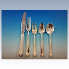 Lady Hilton by Westmorland Sterling Silver Flatware Set 12 Service 60 Pieces