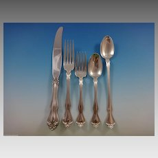 George & Martha by Westmorland Sterling Silver Flatware Set 12 Service 62 Pieces