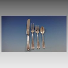 Francis I by Alvin Sterling Silver Flatware Set For 12 Service 52 Pieces