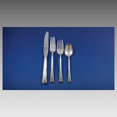 Greenbrier by Gorham Sterling Silver Flatware Set for 12 Service 51 Pieces