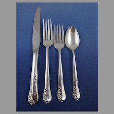 Engagement by Oneida Sterling Silver Flatware Set Service 51 Pieces