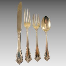 Rondelay by Lunt Sterling Silver Flatware Service Set 48 Pieces