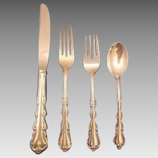 Angelique by International Sterling Silver Flatware Set Service 51 Pieces