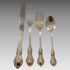 Hampton Court by Reed & Barton Sterling Silver Flatware Set Service 48 pieces