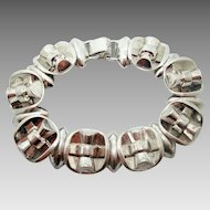 Sterling Silver Art Deco Bracelet