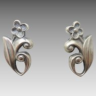 La Paglia Sterling Flower Earrings #214