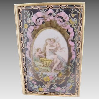 Tiffany & Co. Victorian Card Case with Woman & Cherubs