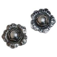 Georg Jensen Sterling Clip Earrings 2002