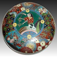 Chinese Rare Egyptian Revival Theme Cloisonne Box