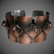 Rebajes Modernist Wide Link Copper Bracelet