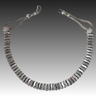 Ethnic Indian Silver Plate Necklace