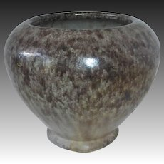 Ft. Ticonderoga Blended Glaze Redware Vase Henry Graack c1930s