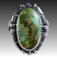 Nakai Native American Sterling & Turquoise Ring