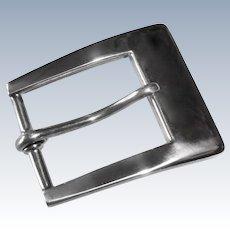 Classic Tiffany & Co Sterling Silver Belt Buckle