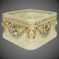 Weller Pottery Roma Pattern Square Planter Vase