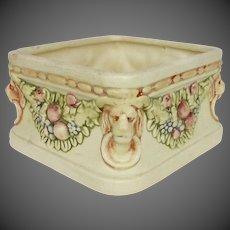 Weller Pottery Roma Pattern Square Planter Vase