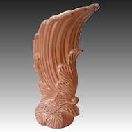 Rare Shape & Color Winged Redwing Pottery Vase #1290