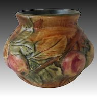 Weller Pottery Baldin Bulbous Apple Vase