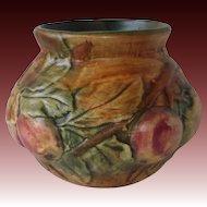 Weller Pottery Baldin Bulbous Apple Vase