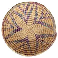 Native American Coiled Ceremonial Wedding Basket