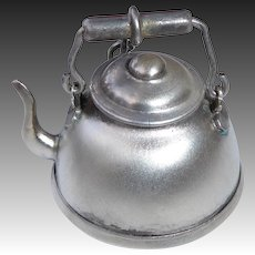 900 Silver Miniature Tea Kettle