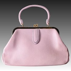 Pink Cowhide Leather Letisse Purse MWT