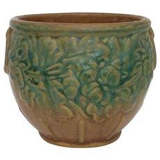 Nelson McCoy Small Blended Glaze Stoneware Jardinieire Vase