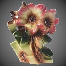 Rare McCoy Magnolia Flower Form Vase