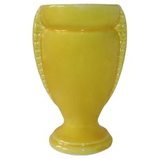 Shawnee USA Sunny Yellow Ceramic Vase