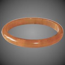 EOD Butterscotch Bakelite Bangle Bracelet