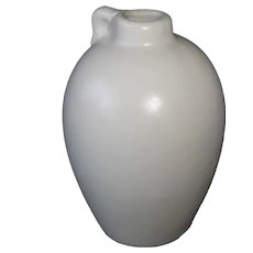 Shawnee Miniature Jug Vase in Matte White