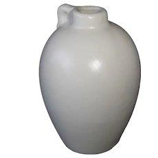 Shawnee Miniature Jug Vase in Matte White