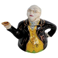 Ceramic English Teapot Charles Dickens Character