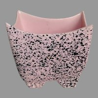 Shawnee Mid Century Atomic Space Age Splatter Vase