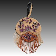 Sweet Art Deco Fringed Beaded Bag