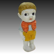Vintage Japan Bisque Boy Kewpie Doll