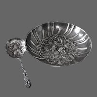 S. Kirk Sterling Silver Berry Bowl & Spoon