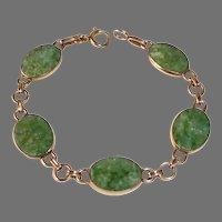 WRE Gold Filled Serpentine Link Bracelet