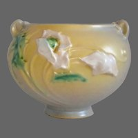 Roseville Art Pottery Small Poppy Jardiniere Vase 642-3