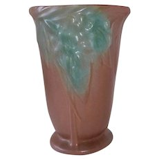 Nelson McCoy Early Leaf & Berry Vase