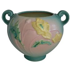 Roseville Art Pottery Poppy Jardiniere Vase 335