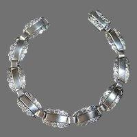 Sterling Keepsake Bracelet w Un-engraved Links