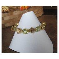 Royalty Collection~Lemon Quartz Vermeil Bracelet