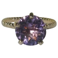 Light Amethyst 14K Gold Bella Ring