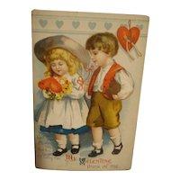 Vintage Valentine Post Card