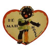 Black Americana Valentine Card