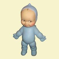 Adorable Cameo Kewpie Blue Ragsy doll