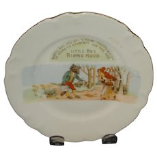 Little Red Riding Hood Plate - Germany