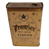 Premier Ground Cloves Tin